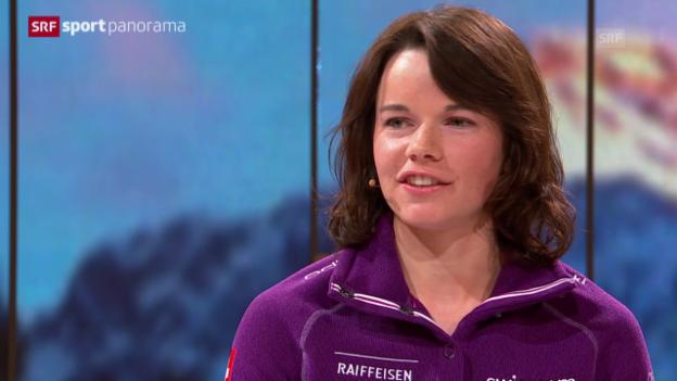 Video «Langlauf: Nathalie von Siebenthal: «Der Skiathlon war das perfekte Rennen»» abspielen