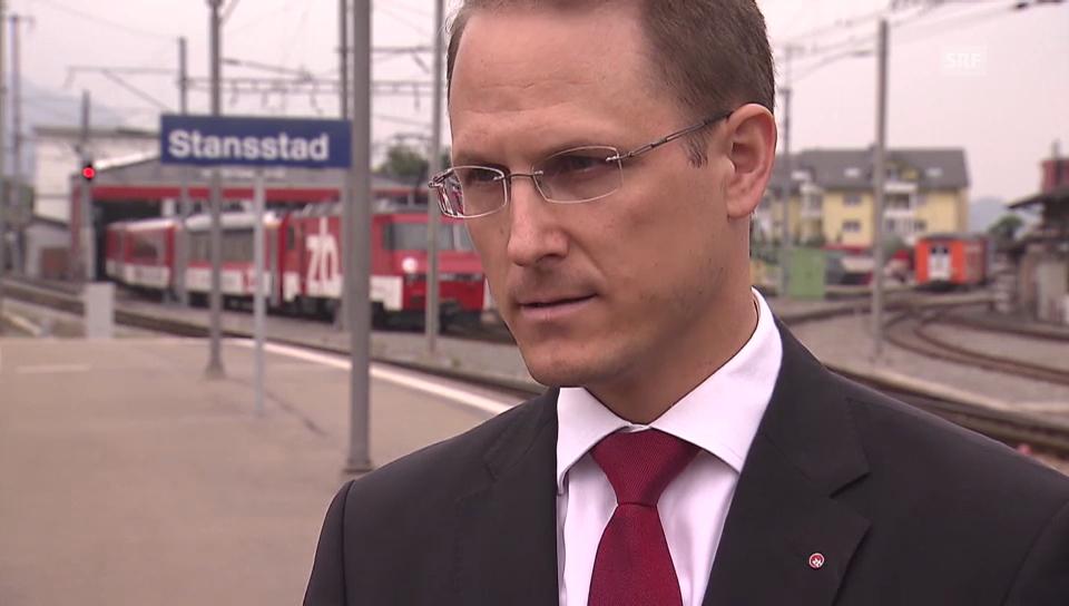 Bahndirektor Renato Fasciati zu den Vorwürfen