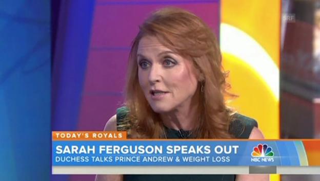 Video «Sarah Ferguson über Prinz Andrew» abspielen