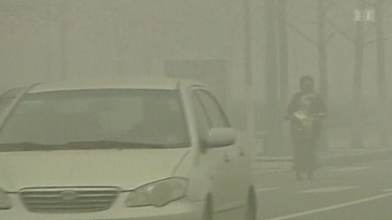 Smog senkt das Geburtsgewicht