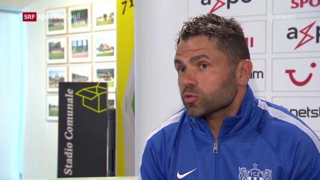 Video «Der FC Zürich vor dem Spiel gegen Sion» abspielen