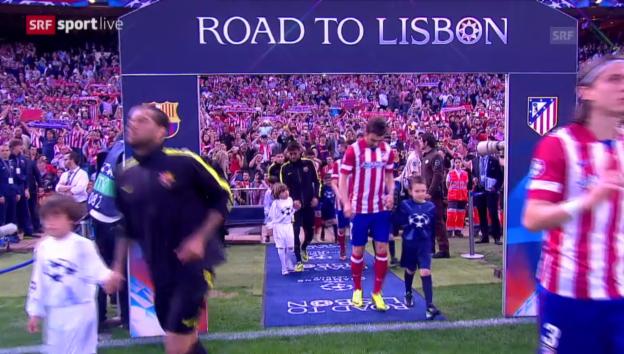 Video «Wissen Sie noch...: Atletico wirft Barcelona raus (2014)» abspielen