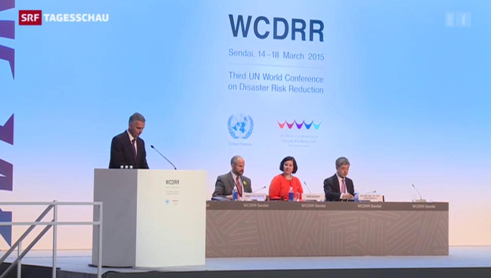 UNO-Konferenz berät Katastrophenvorsorge