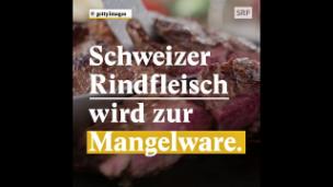 Video «Geht der Schweiz das Rindfleisch aus?» abspielen