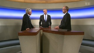 Video «Streitgespräch: Peter Hegglin vs. Rudolf Strahm » abspielen