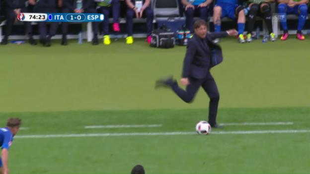 Video «Conte mit vollem Körpereinsatz» abspielen