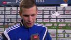 Video «Fussball: Super League, Stimmen zu Basel-Vaduz» abspielen