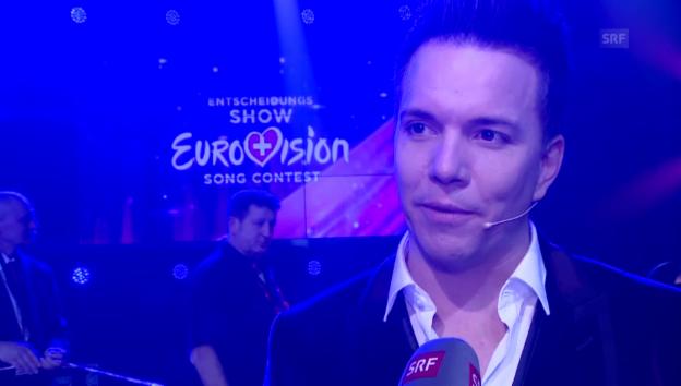 Video «Sven Epiney und Sebalter über Mélanie Renés ESC-Chancen» abspielen