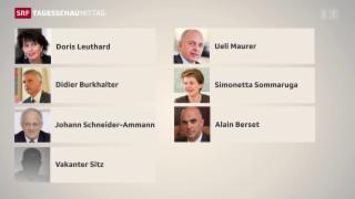 Video «Wer tritt das Erbe der BDP-Bundesrätin an?» abspielen