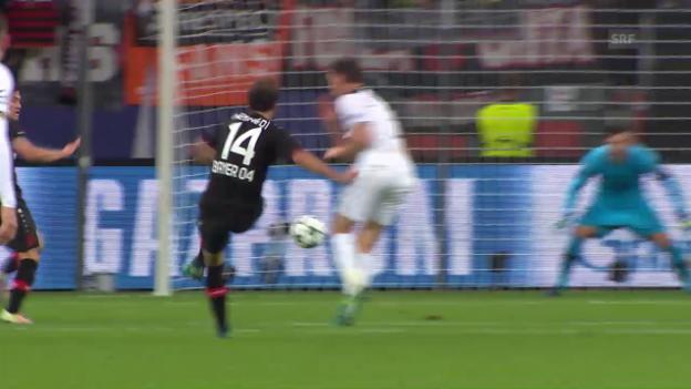 Video «Die Highlights bei Leverkusen - Tottenham» abspielen