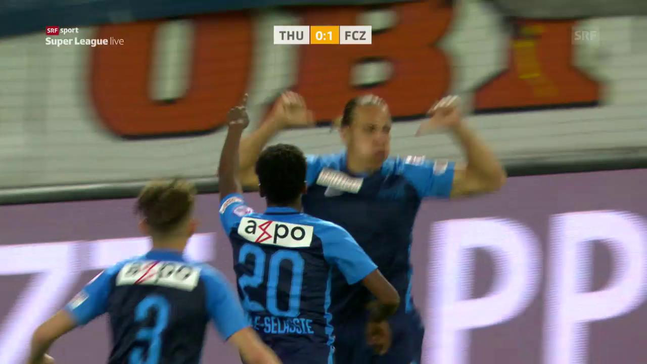 Frey schiesst FCZ zum Sieg in Thun
