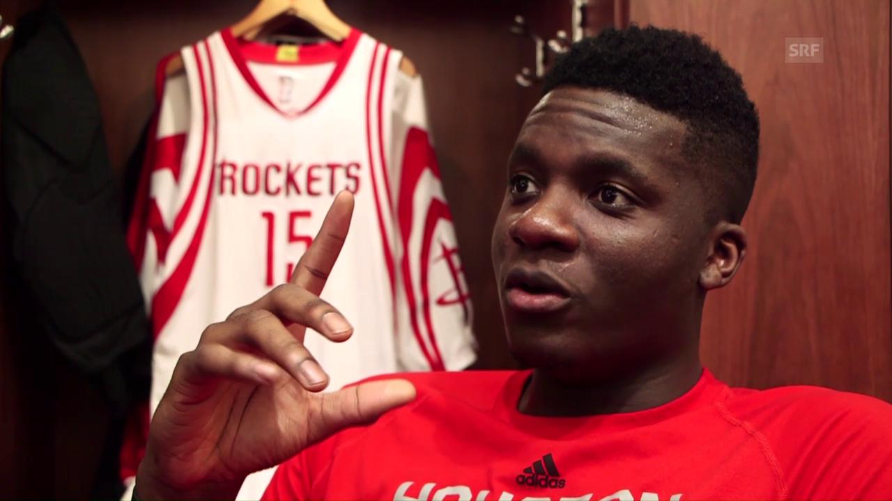 Clint Capela spricht über seine Rolle bei den Rockets