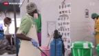 Video «Kampf gegen Ebola zeigt Wirkung» abspielen