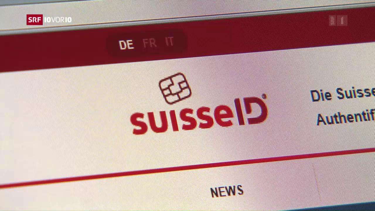 Papierkram via Internet: Schweiz hinkt hinterher