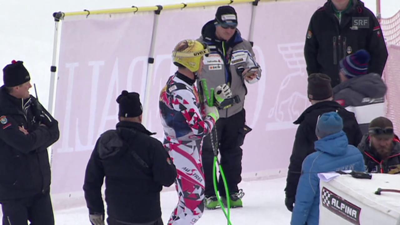 Ski: 1. Training in Kitzbühel