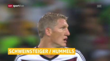 Video «EURO-Kurznews: Schweinsteiger nur Ersatz» abspielen