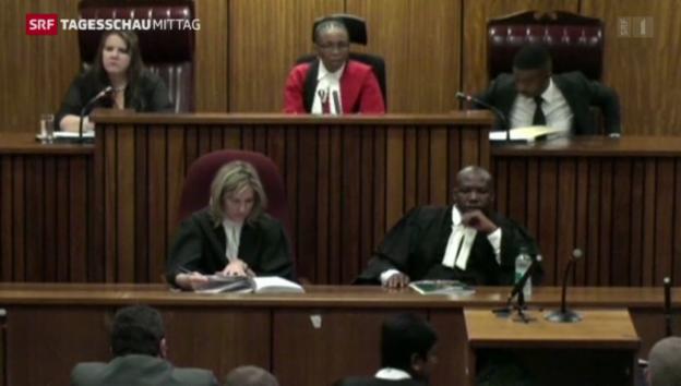 Video «Letzte Etappe im Pistorius-Prozess» abspielen