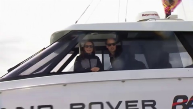 Video «William und Kate an der «America's Cup World Series«-Regatta» abspielen