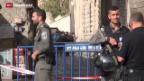 Video «Immer mehr Messerangriffe in Israel» abspielen