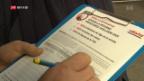 Video «Stimmensammlung für Referendum gegen AHV-Reform verwirrt» abspielen
