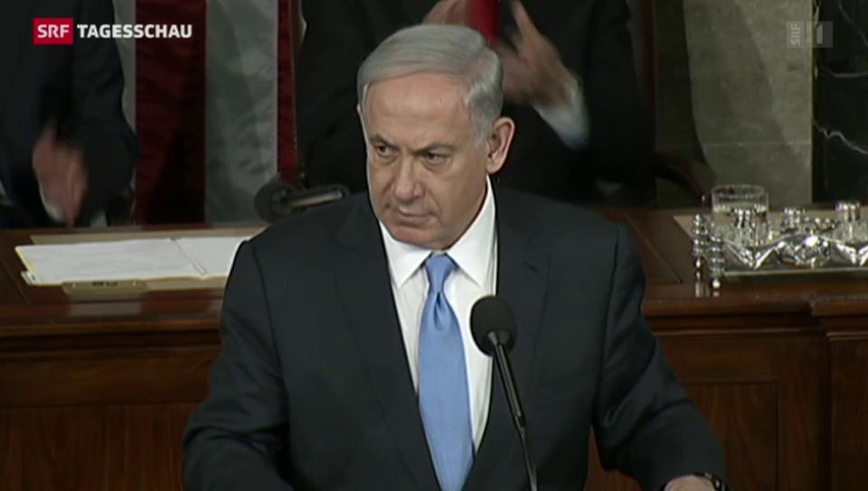 Im Schatten des Wahlkampfs: Netanjahus Rede im US-Kongress