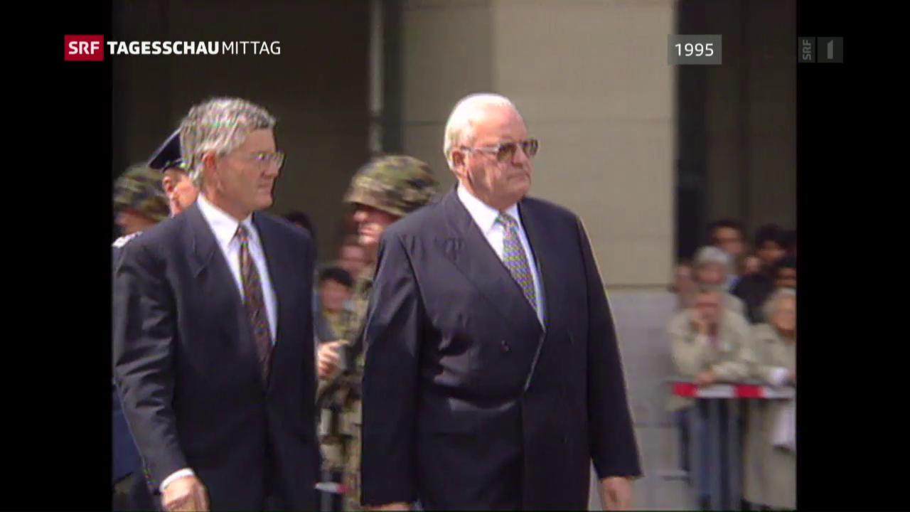 Altbundespräsident Herzog tot