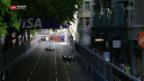Video «Freude und Ärger über E-Prix in Zürich» abspielen
