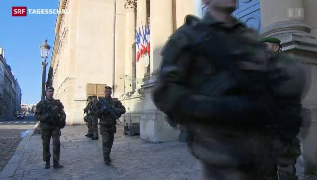 Video «Frankreich mobilisiert Soldaten» abspielen