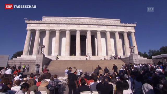 Amerikaner erinnern an den «Marsch auf Washington»