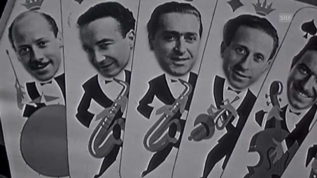 Band Lanigiro: Vermutlich der erste Videoclip der Schweiz (1944)