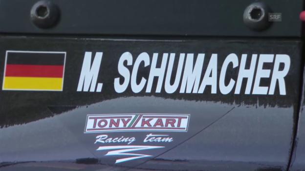 Video «Motorsport: Der erste Sieg von Mick Schumacher» abspielen