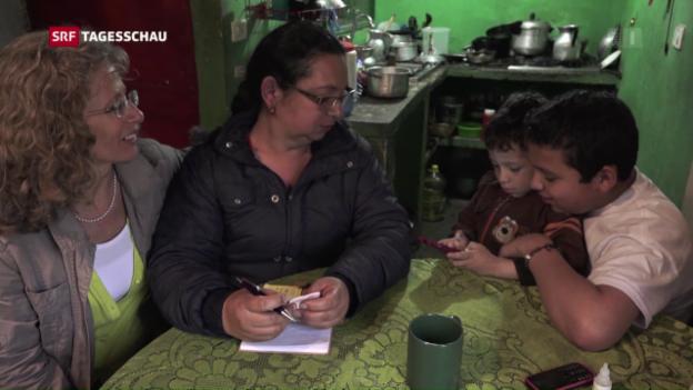 Video «Schweizer Unterstützung in Kolumbien» abspielen