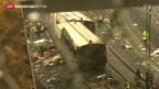 Video «Schweres Zug-Unglück in Spanien» abspielen