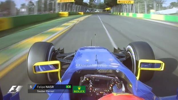 Video «Formel 1: GP von Australien, Start- und Schlussphase» abspielen