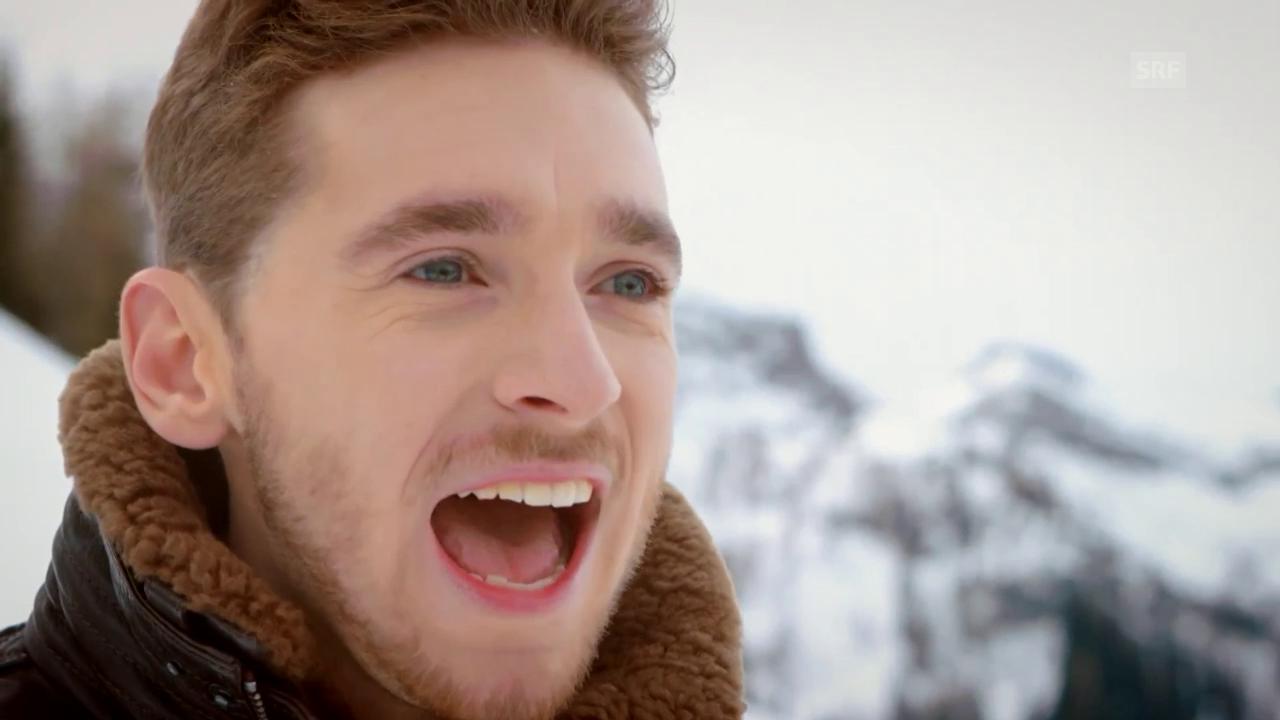Österreich - Nathan Trent mit «Running On Air»