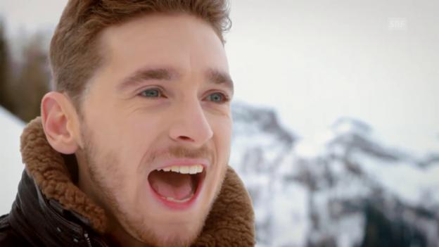 Video «Österreich - Nathan Trent mit «Running On Air»» abspielen