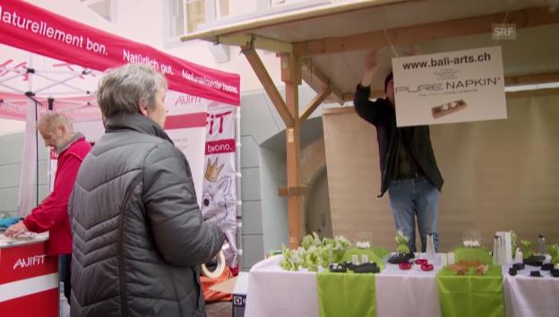 Video «Neuanfang in der Schweiz» abspielen