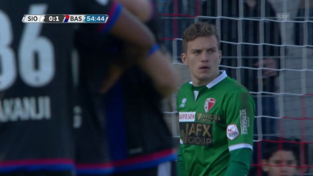 Video «Livehighlights Sion - Basel» abspielen