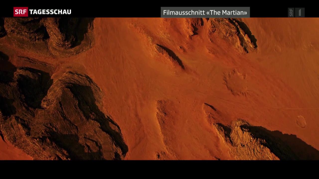 """Filmstart von """"Der Marsianer"""" in den Schweizer Kinos"""