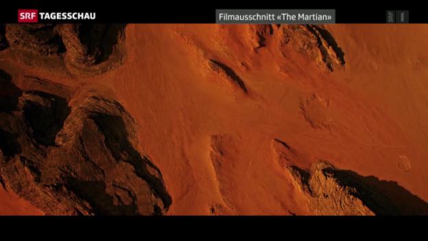 """Video «Filmstart von """"Der Marsianer"""" in den Schweizer Kinos» abspielen"""