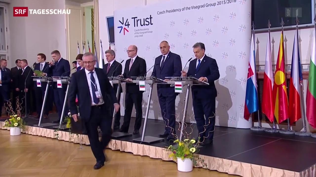 Osteuropäischer Widerstand gegen Merkels Flüchtlingspolitik
