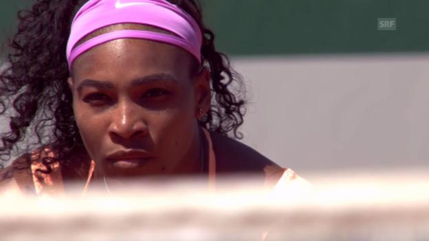 Video «Tennis: Serena Williams vor dem Grand Slam» abspielen