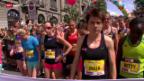 Video «Leichtathletik: Mit Maja Neuenschwander am Frauenlauf Bern» abspielen