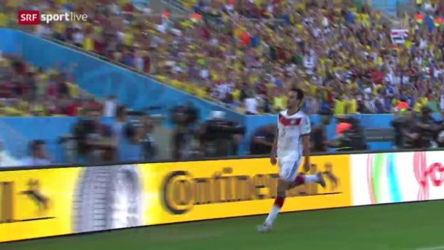 Video «Spielbericht Frankreich - Deutschland» abspielen