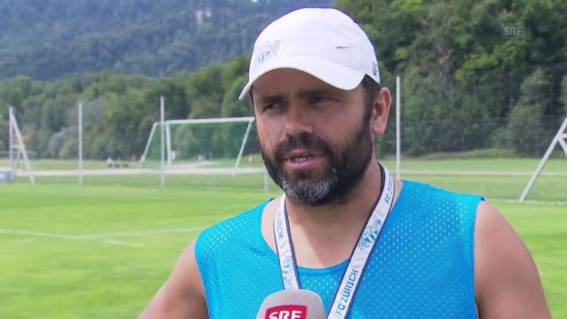 Video «FCZ-Trainer Uli Forte zum Saisonstart» abspielen