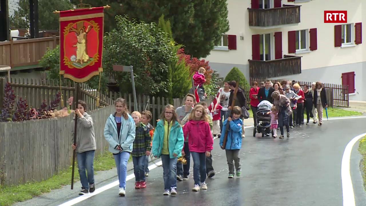 La processiun da S. Roc a Segnas.