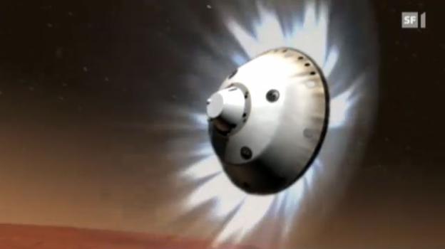 Video «Perfekte Landung auf dem Mars» abspielen