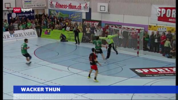 Video «Attraktive Gruppe für Wacker Thun («sportaktuell»)» abspielen