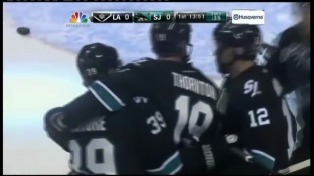Video «NHL, Sharks-Kings, Game 6» abspielen