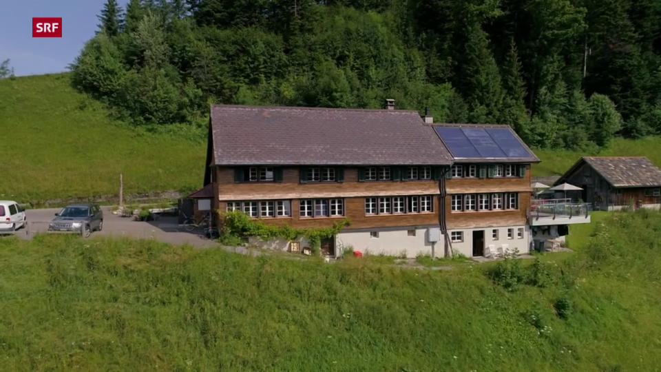 Die Sennhütte im Zürcher Oberland